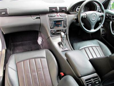 nappa leather 2-tone seats are comfortable yet supportive