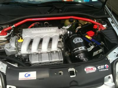 result! spanking new engine bay