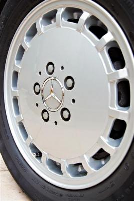 Original 15inch alloys from the Singapore distributor